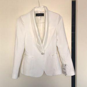 NWT White Zara Tuxedo sz S